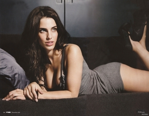 Jessica Lowndes Обои possibly containing a living room entitled Jessica in FHM