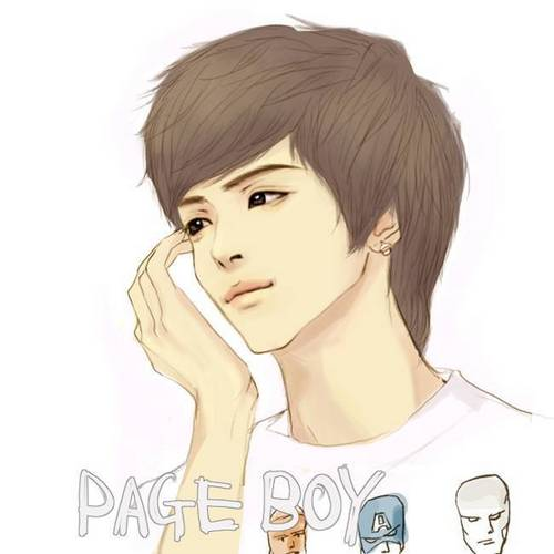 Shinee wallpaper containing a portrait called Jonghyun Fanart