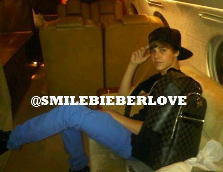 Justin Bieber: Private Jet