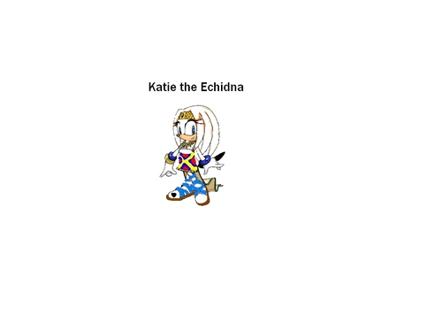 Katie The Echidna