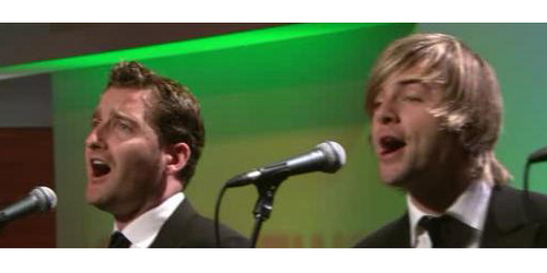 Keith and Paul (My Screenshots from CT's performance on KLTA 11/6/10)