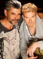 Kellan's picture with photographer Mike Ruiz - twilight-series photo