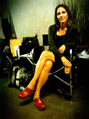 Kelli and her red shoes*