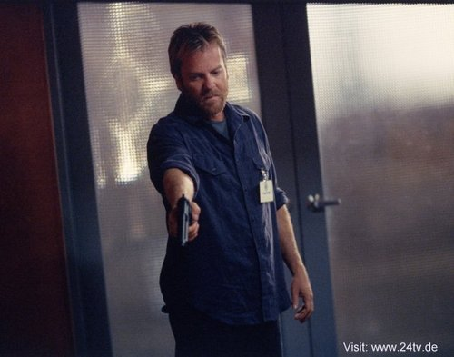 24 wallpaper called Kiefer Sutherland as Jack Bauer