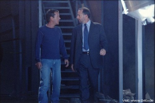 Kiefer & Xander Berkeley as Jack Bauer & George Mason