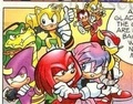 Knuckles and the Chaotix