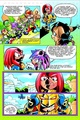 Knuckles turns bad - knuckles-the-echidna photo