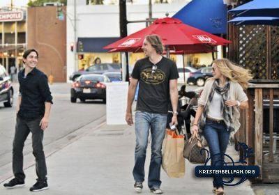 Kristen & Dax out in LA