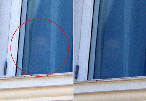 Kristen in her hotel in Brazil