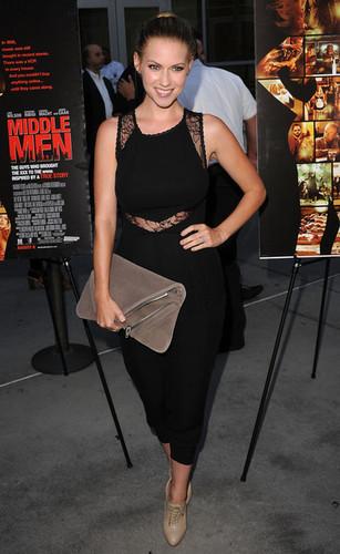 Laura @ Middle Men Premiere - 2010