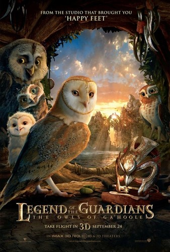 Legend Of The Guardians Movie Poster