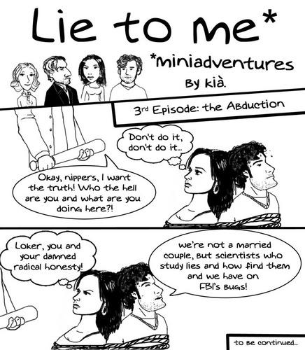 Lie to me miniadventures 3rd