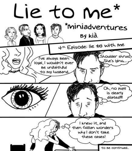 Lie to me miniadventures 4th