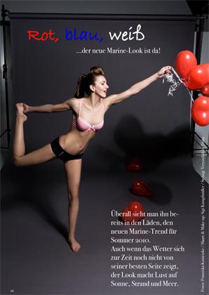 Lisa Müller for a Magazine