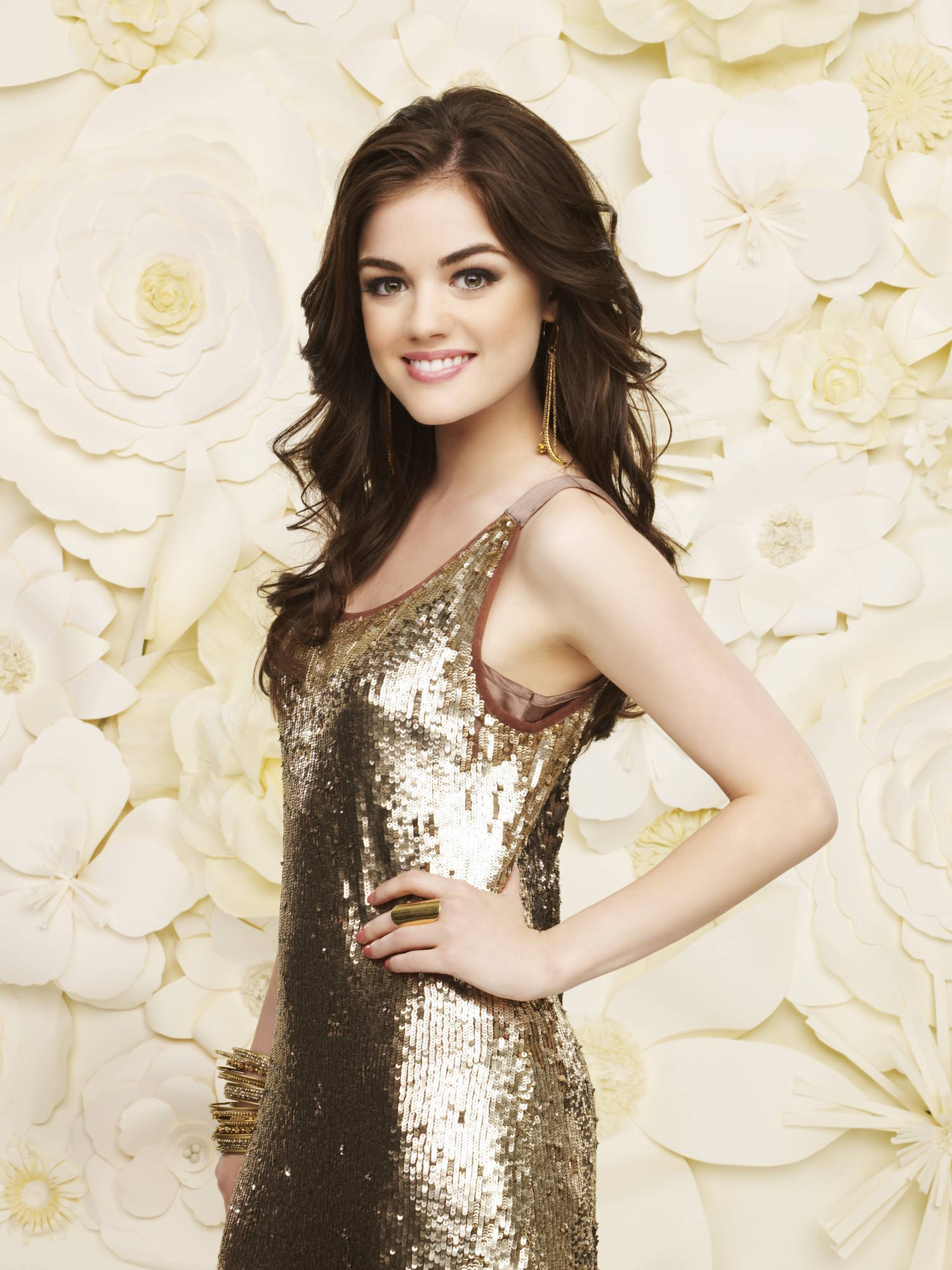 Lucy Hale New Pretty Little Liars Photoshoot Pretty Little