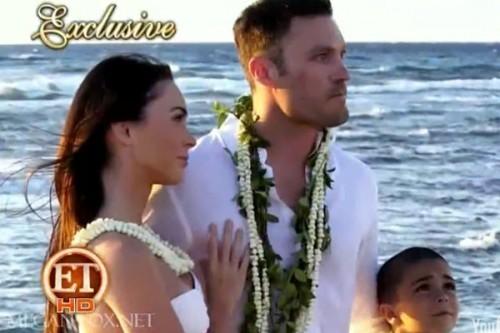 Megan raposa & Brian Austin Green Wedding