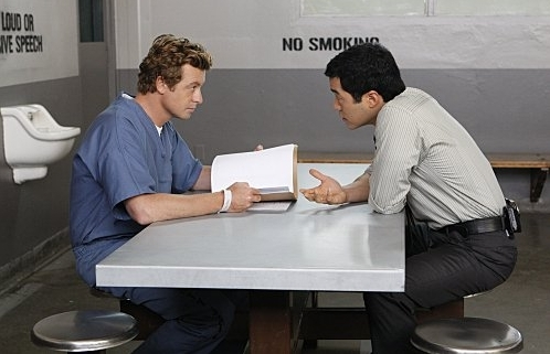 Mentalist s01e06 - Black सोना and Red Blood