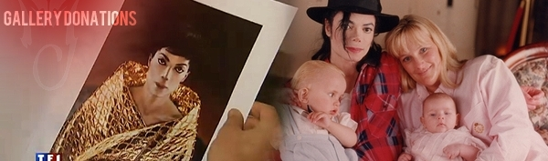 Michael Jackson. Prince and Paris Gallery Donations.