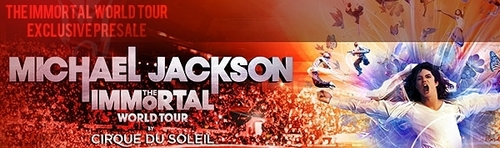 Michael jackson The Immortal World Tour.