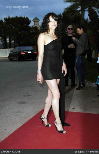 Michelle @ 2010 World música Awards
