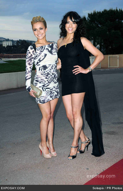 Michelle & Hayden Panettiere @ 2010 World musik Awards