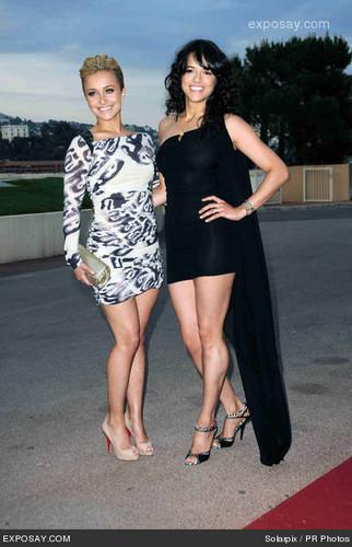 Michelle & Hayden Panettiere @ 2010 World 음악 Awards