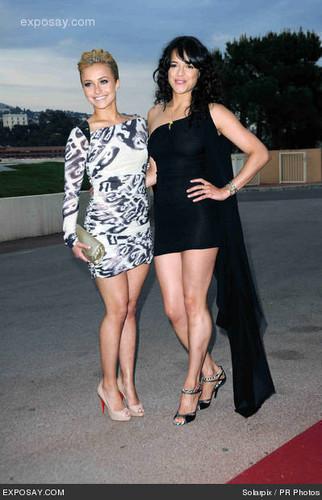 Michelle & Hayden Panettiere @ 2010 World muziek Awards