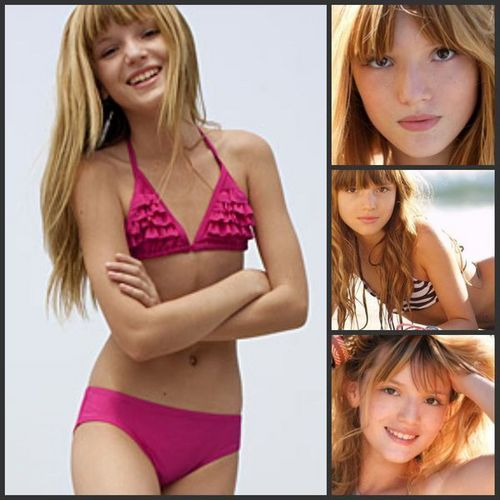 Bella Thorne Hintergrund containing a bikini called Modeling<3