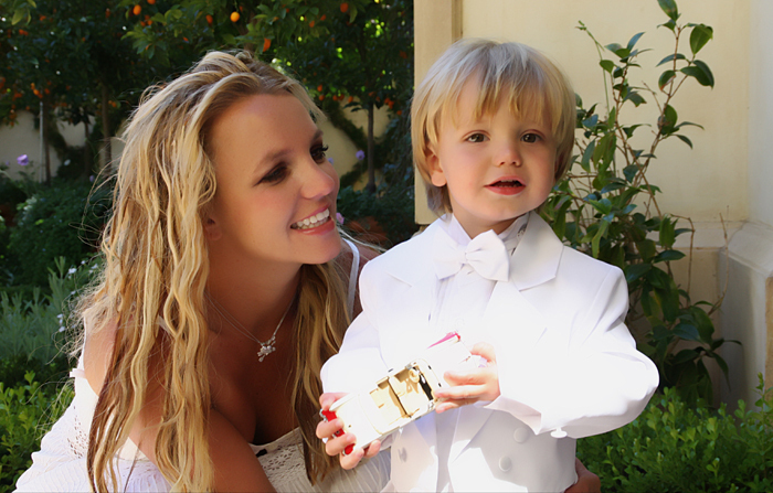 Mommy Brit and her sweet angels