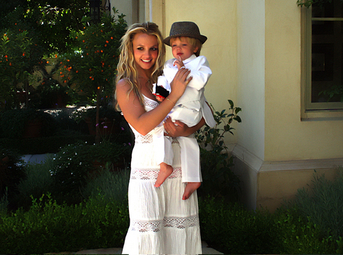 Mommy Brit and her sweet Bidadari