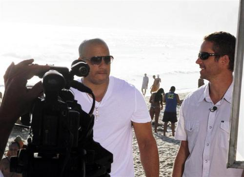 On set Fast Five