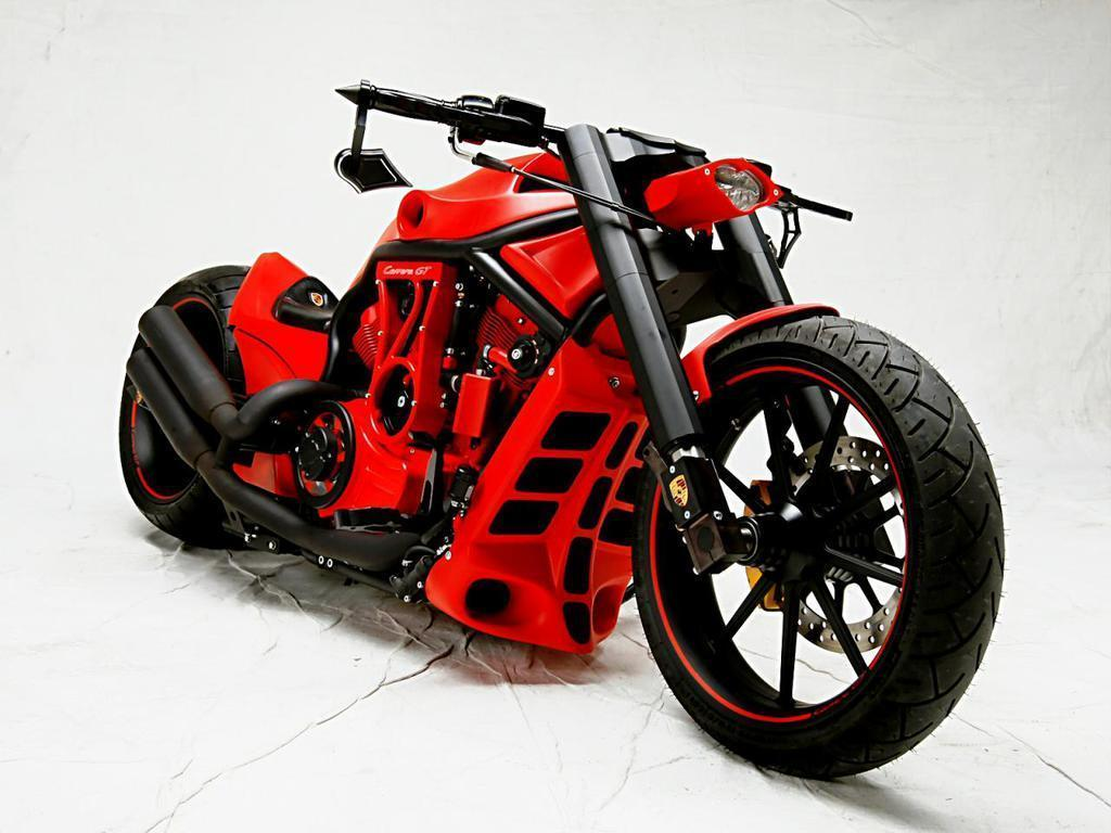 Porsche Custom Motorcycle: Custom Baggers, Baggers And