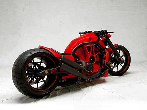 PORSCHE CUSTOM MOTORCYCLE - motorcycles Wallpaper