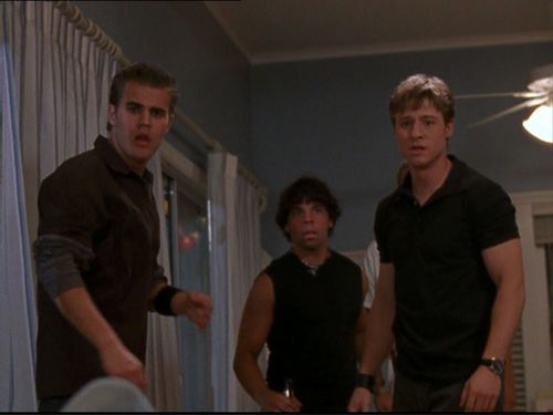 Paul Wesley wallpaper probably with a sign entitled Paul as Donnie in the OC - ep 1x05: The Outsiders