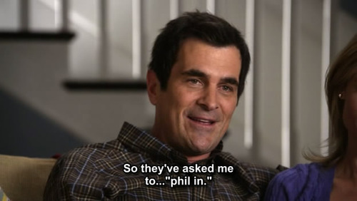 Phil Dunphy. - modern-family Fan Art