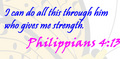 Philippians 4:13 - christianity photo