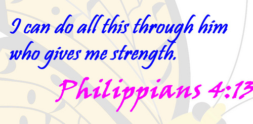 Christianity wallpaper called Philippians 4:13