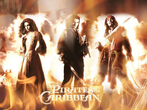 Pirates of the Caribbean wallpaper probably with a concert, a fire, and a rifleman called Pirates