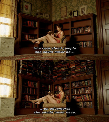 Pushing Daisies wallpaper with a bookshop, a library, and an athenaeum entitled Pushing Daisies