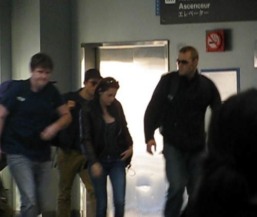 ROB and KRISTEN AT MSY airport in NOLA