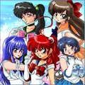 Ranma 1/2 -X- Sailor Moon