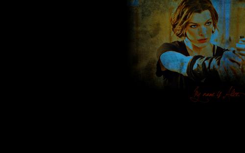 resident evil wallpaper called Resident Evil Film