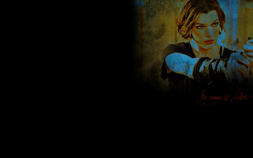 生化危机 壁纸 titled Resident Evil Film