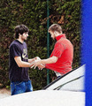 Ricky Rubio undressing Piqué