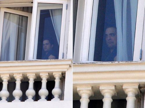 Rob in his hotel in Brazil
