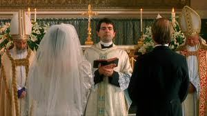 Four Weddings And A Funeral Images Rowan Atkinson Priest Wallpaper Background Photos