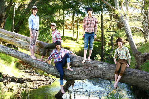 Shinee wallpaper probably with a dugout canoe and a sitka spruce titled SHINee Photobook Scans