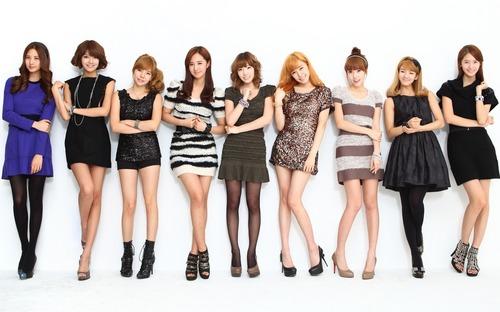 Girl's Generation/SNSD karatasi la kupamba ukuta titled SNSD
