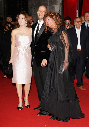 Sasha @ 2nd Rome Film Festival - Tribute To Sophia Loren