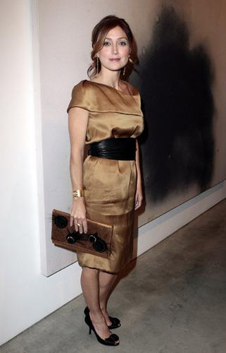 Sasha @ Gagosian Gallery Opening Reception For Julian Schnabel